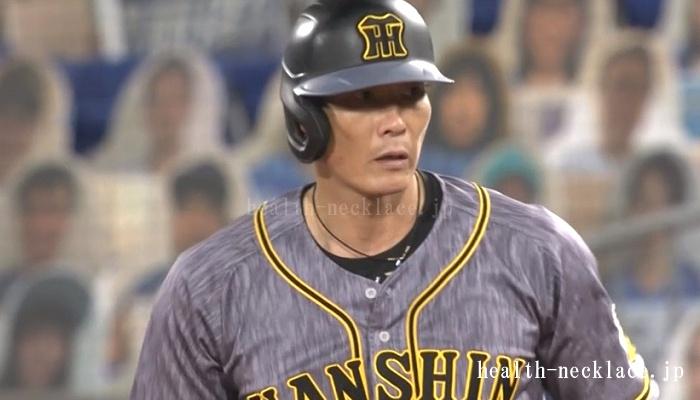 阪神 糸井 RAKUWAネック メタックス ティアドロップ