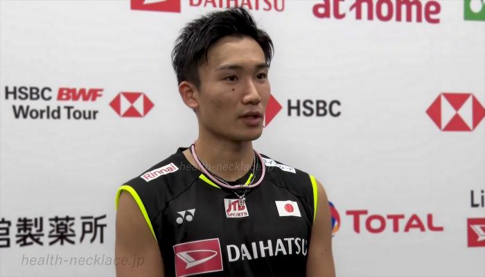 ダイハツ・ヨネックスジャパンオープン2019バドミントン選手権 桃田ネックレス