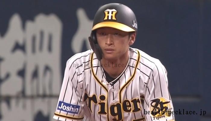 阪神タイガース 近本光司 ファイテンスポーツネックレス