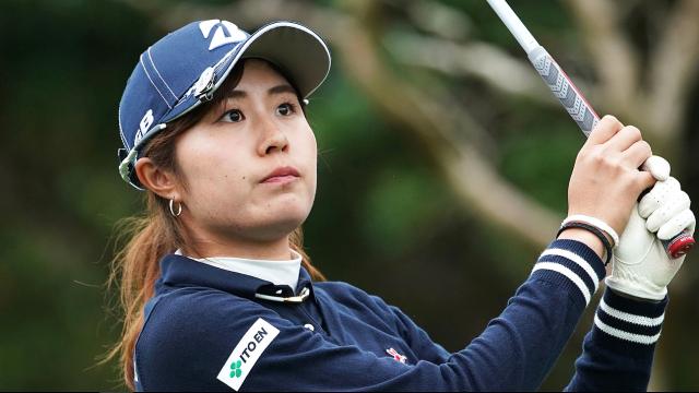 女子プロゴルファー大里桃子ネックレス