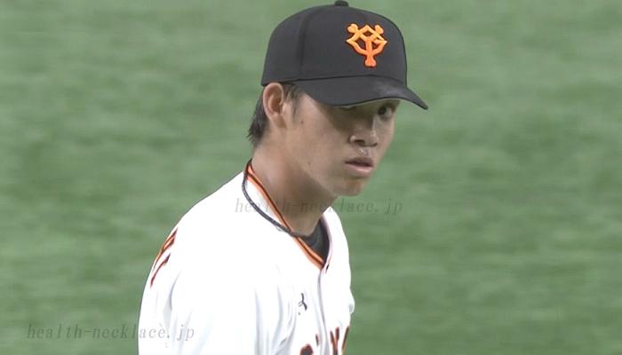 読売ジャイアンツ 高橋優貴 スポーツネックレス