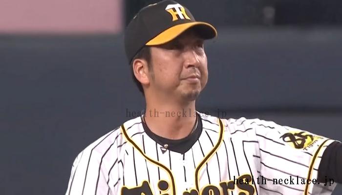 阪神タイガース 藤川球児 ファイテンスポーツネックレス