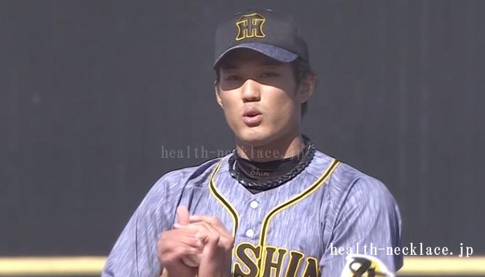 阪神 藤浪晋太郎 ファイテンスポーツネックレス