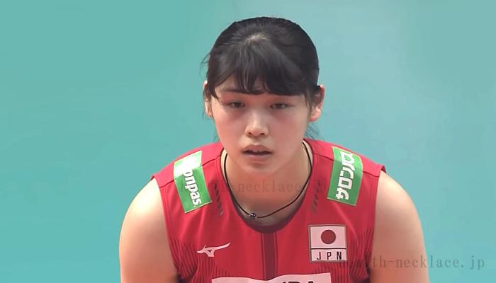 女子バレー日本代表 黒後愛 ファイテン ミラーボール