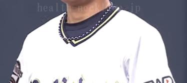 オリックス-山岡泰輔-スポーツネックレス