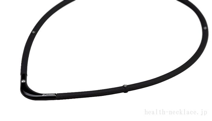 ファイテンRAKUWA磁気チタンネックレスS-2 ブラック