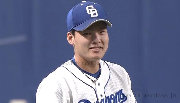 中日ドラゴンズ 石川昂弥(いしかわたかや) スポーツネックレス