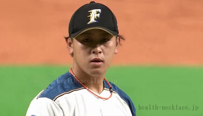 日本ハムファイターズ 河野竜生投手 スポーツネックレス