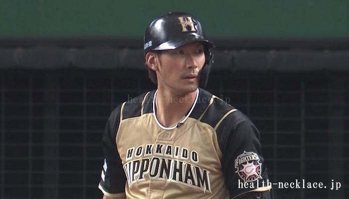 日本ハム 大田泰示 スポーツネックレス