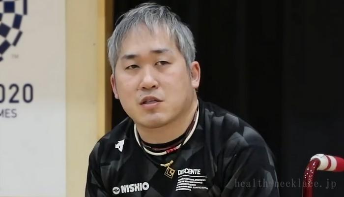 【ボッチャ】廣瀬隆喜愛用のスポーツネックレス