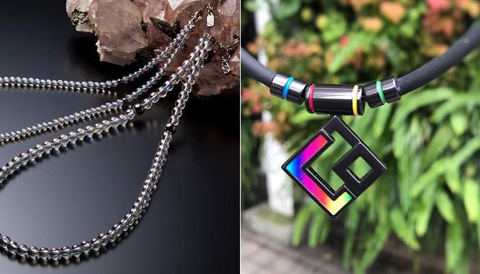 ファイテンチタン水晶ネックレスとコラントッテオールスター特別仕様モデル