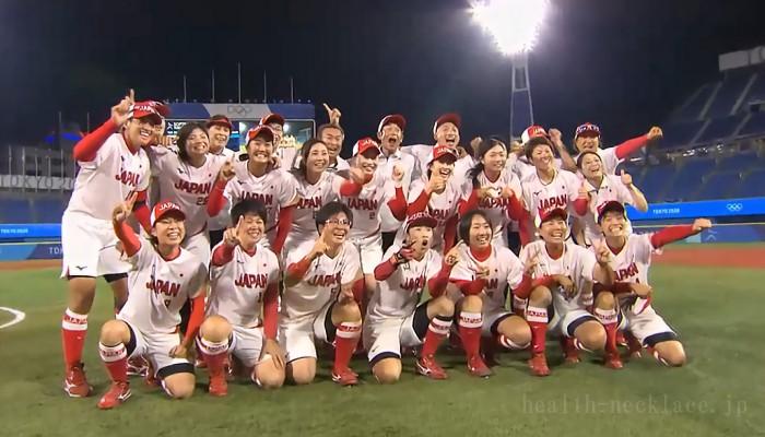 女子ソフトボール日本代表 東京オリンピック 優勝メンバー