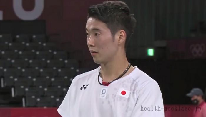 東京オリンピック男子バドミントン代表常山幹太 ファイテンチタンネックレス
